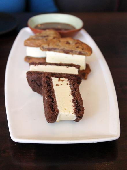 Perfect ice cream sammies.