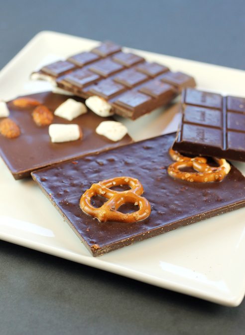 Chuao Pretzel Toffee Twirl, and Ravishing Rocky Road bars.