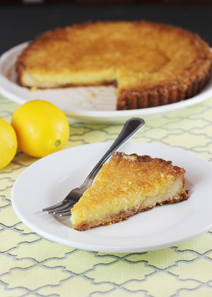 You can be a bit of a lazy bone when making this tart. Just a little.