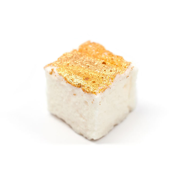Gold-leaf marshmallow. (Photo by Sugarfina)