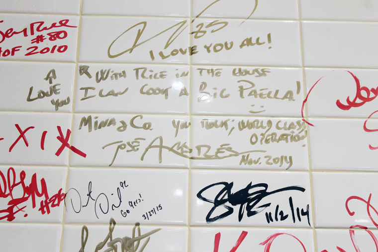 How many other famous signatures can you spot?