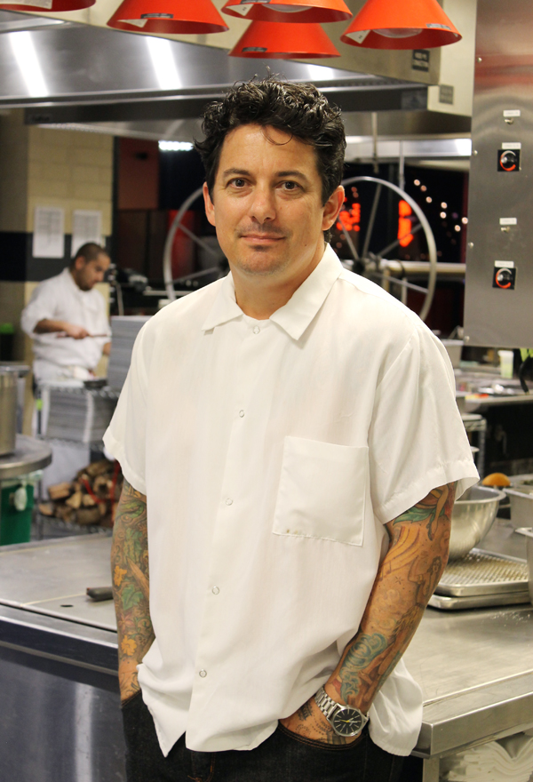 Executive Chef Chris Curtiss.