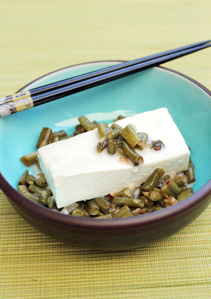 Tofu that's pretty enough for company, don't you think?