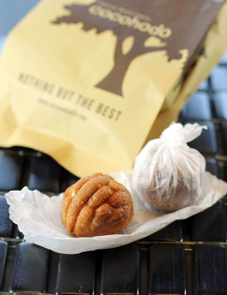 Discover Korean walnut pastries.