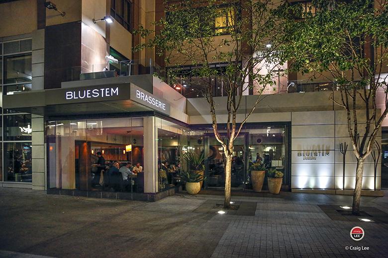 Step inside Bluestem Brasserie. (Photo by Craig Lee)