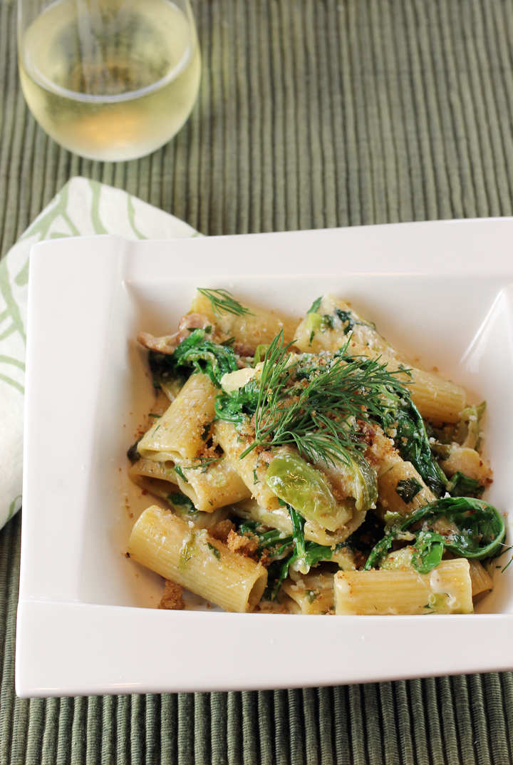 Pasta that's virtuous and naughty at the same time.
