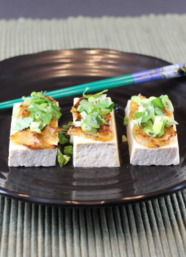 Tofu -- as pretty and tasty as it gets.