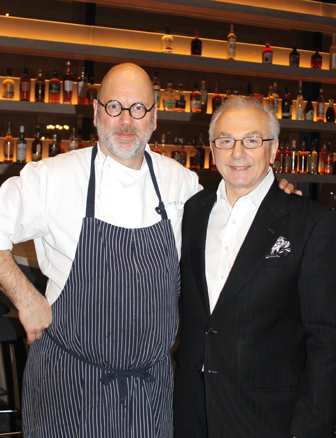 Chef Staffan Terje and Proprietor Umberto Gibin.