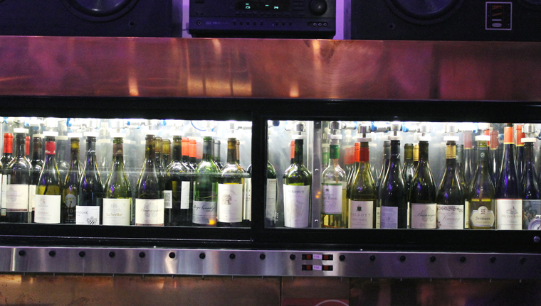 The wine preservation system.