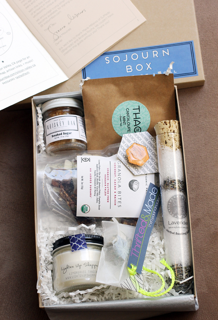 "A peek inside the ""Silicon Valley'' Sojourn Box."