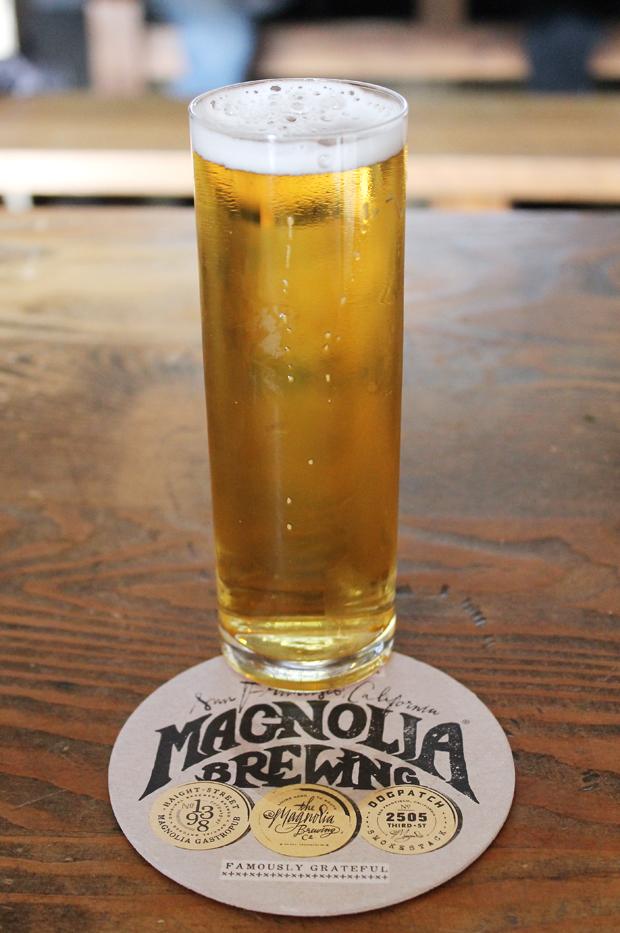 Bottoms up with a Kalifornia Kolsch.
