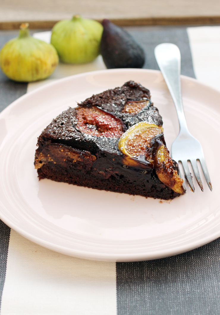 You'll fall hard for this chocolate fig cake. I sure did.