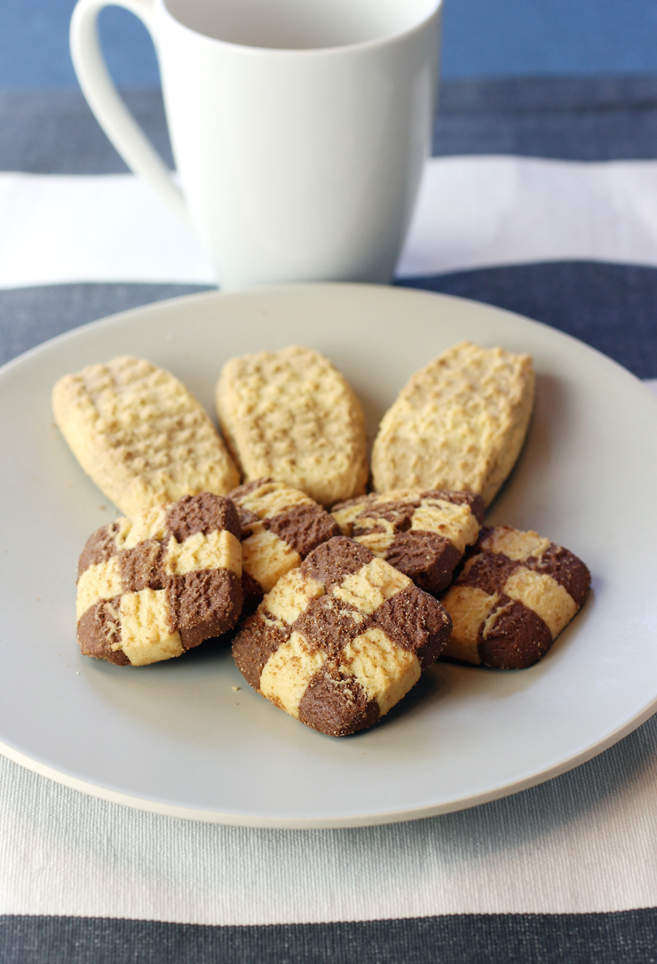 Italian cookies made with specialty einkorn flour.