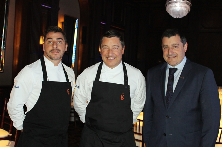 Jordi, Joan and Josep Roca in the Julia Morgan Ballroom.