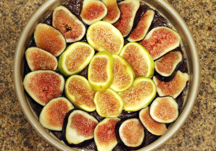 I used two varieties of fresh figs.