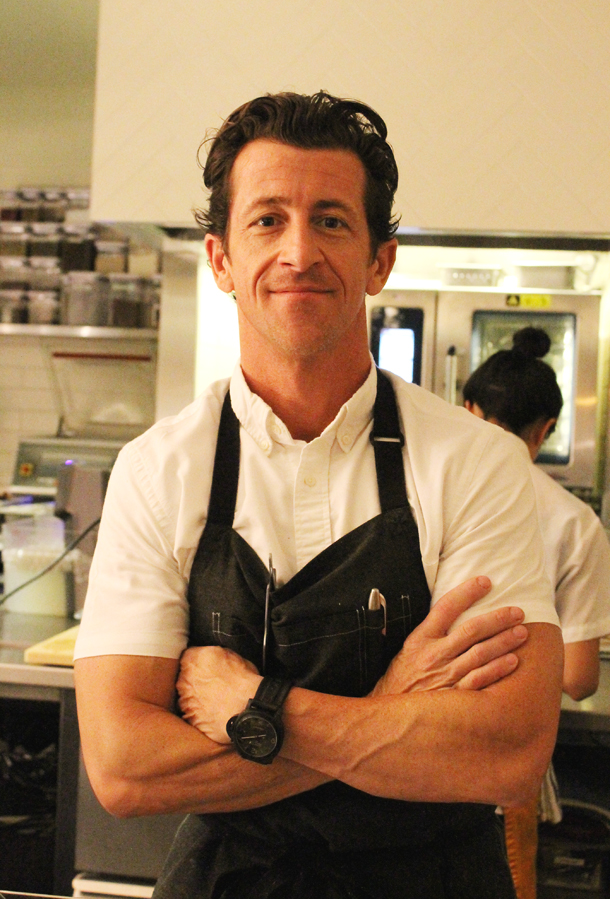 Chef Robbie Wilson brings impressive credentials to Palo Alto.