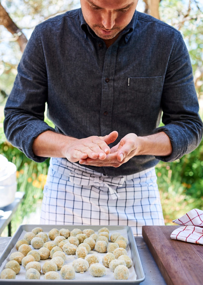 Chef Ryan Pollnow will be showing off his Basque-style tapas at the opening of the new store. (Photo courtesy of Williams-Sonoma)