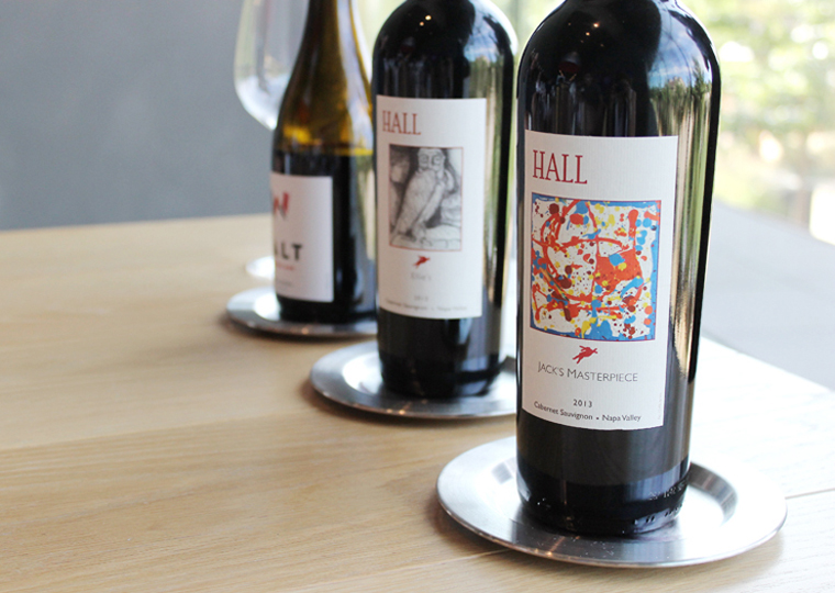 A tasting of Hall wines.