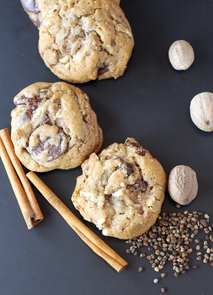 Not your average chocolate chip cookie.