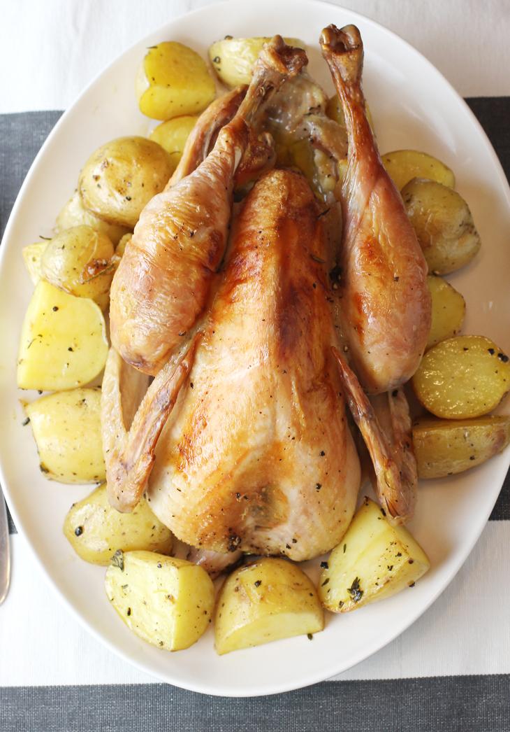 Not your standard chicken.