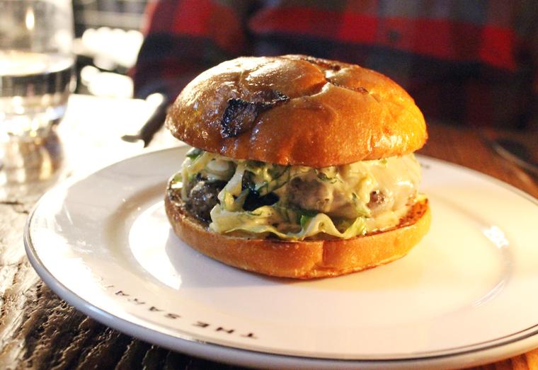 The Saratoga Burger.