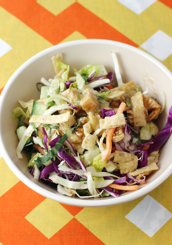 Crunch in every bite -- Chinese Chicken Salad.