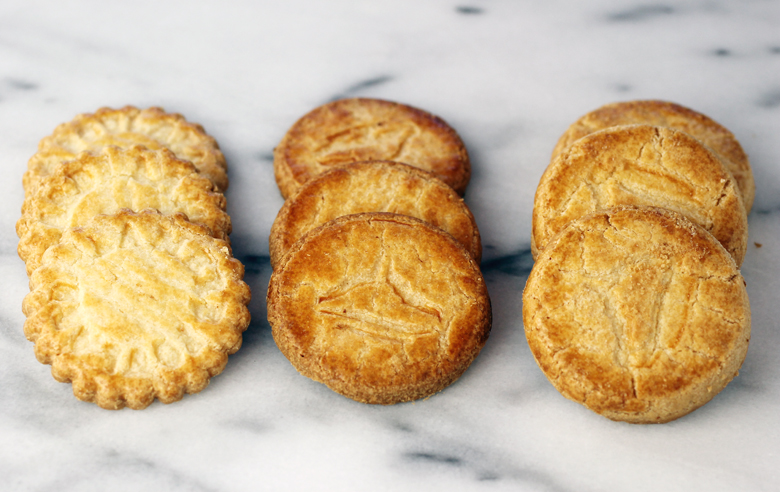 La Mere Poulard puts a generous amount of butter in these biscuits or cookies.