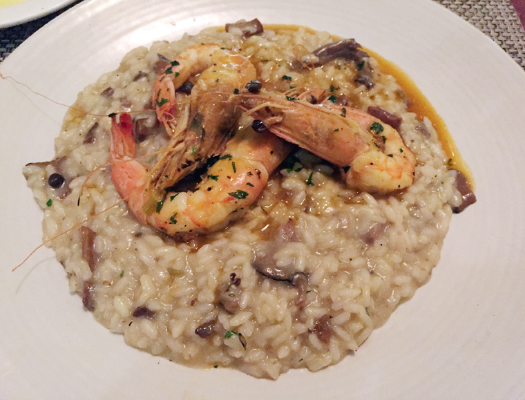 The nightly risotto.