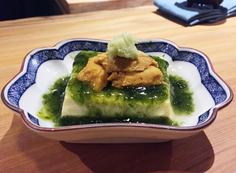 Egg tofu.