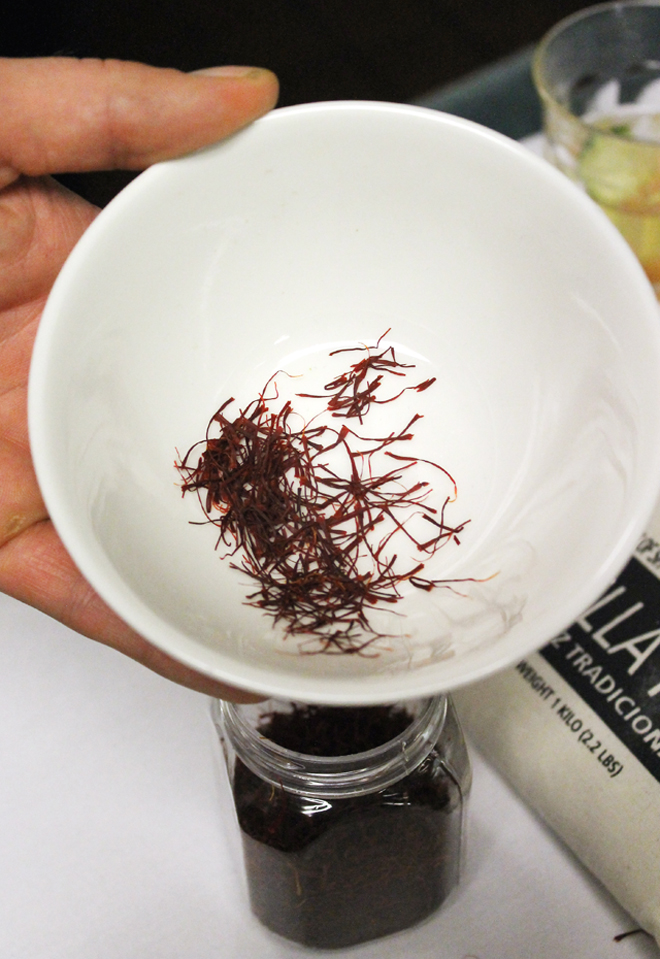Saffron from northern Iran.