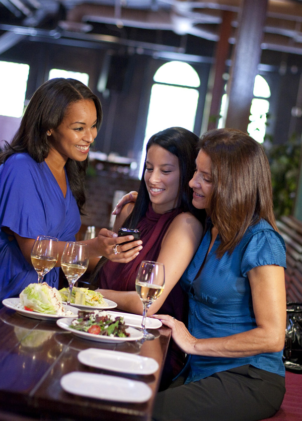 Girls' night out at Loft Bar & Bistro. (Photo courtesy of the San Jose Downtown Association)