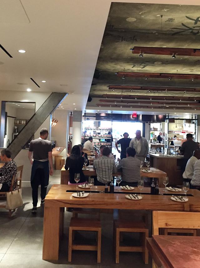 The Market Restaurant.
