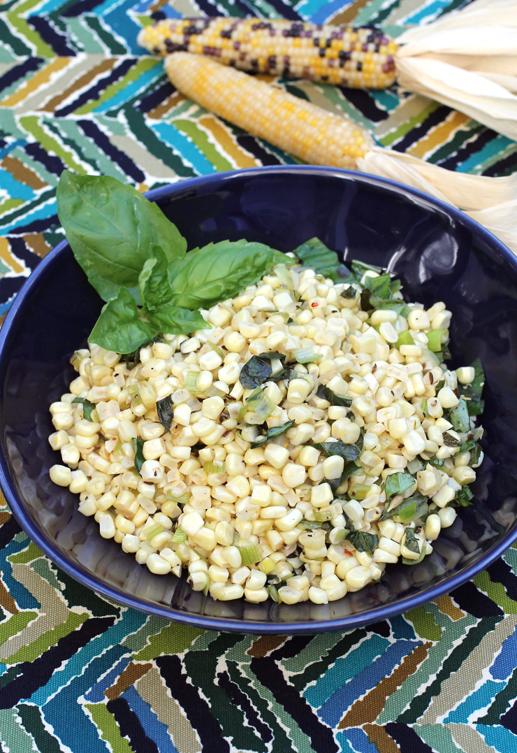 Corn with cumin -- as simple as it gets.