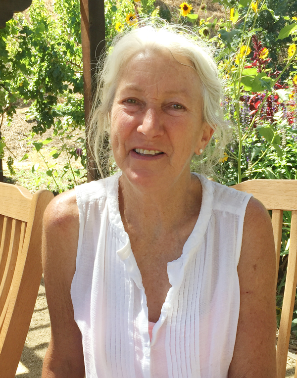 Master Gardener Diane Dovholuk.