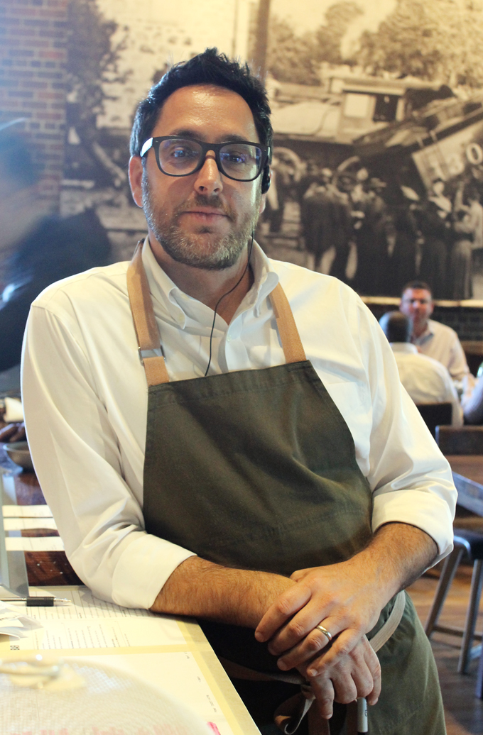 Chef Christopher Kostow at his new, more casual restaurant, the Charter Oak.
