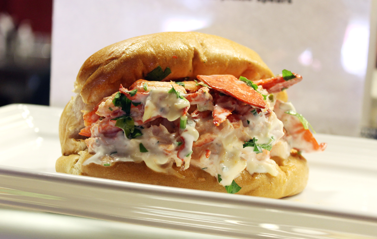 Centerplate's lobster roll with citrus mayo.