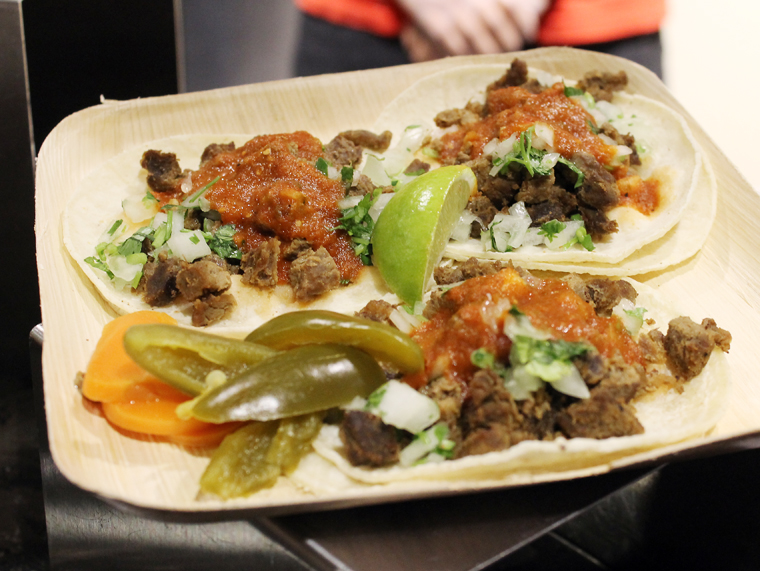 Tacos from Red Rooster.