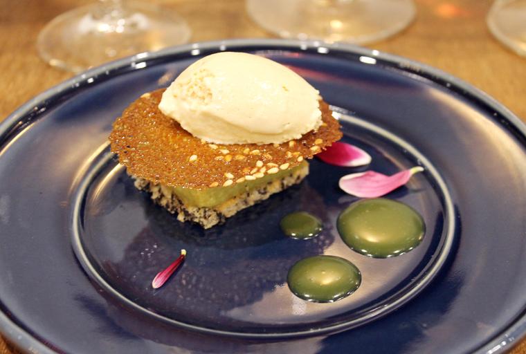 An Asian-inspired dessert by Jessica Carreira.