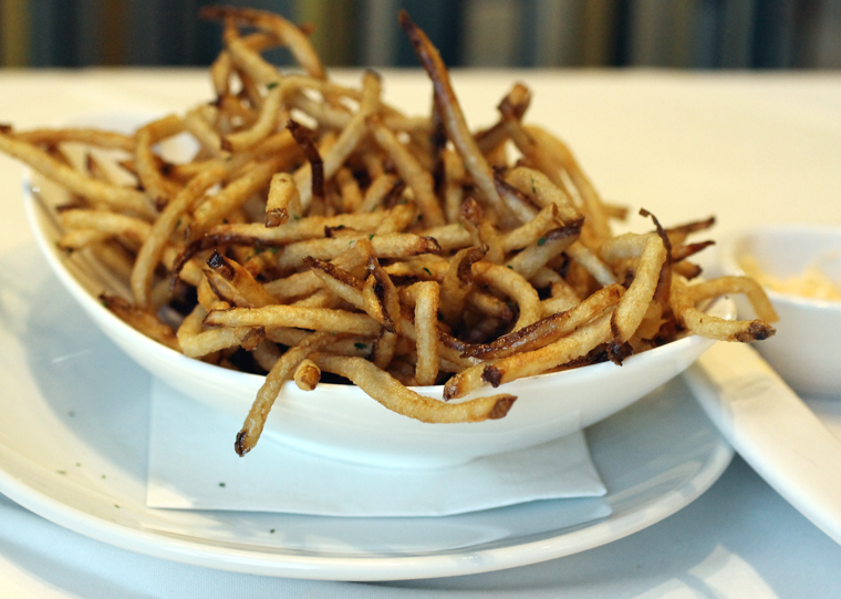Skinny fries.