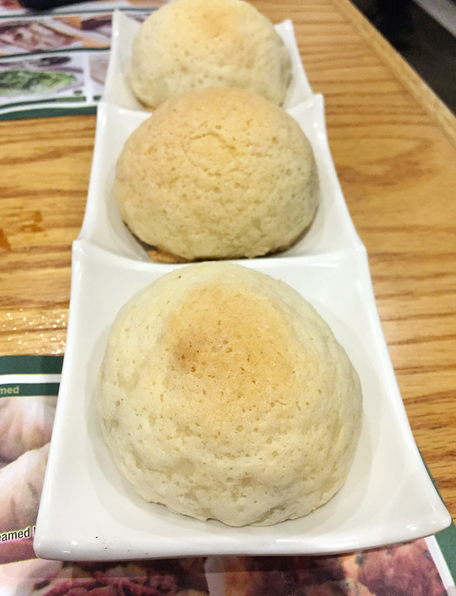 A different rendition of pork buns.