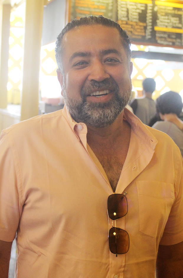 Owner Amod Chopra, whose father Vik, started the business.