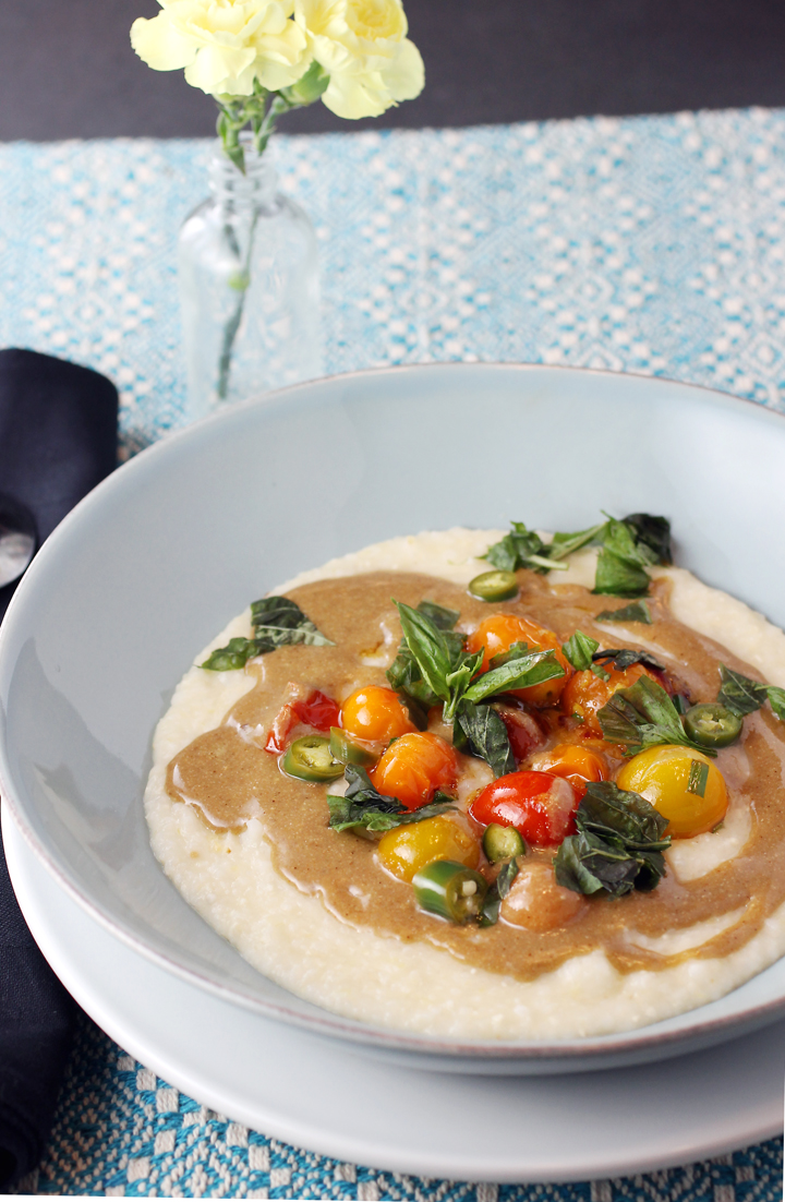 Tuck into this novel version of grits.