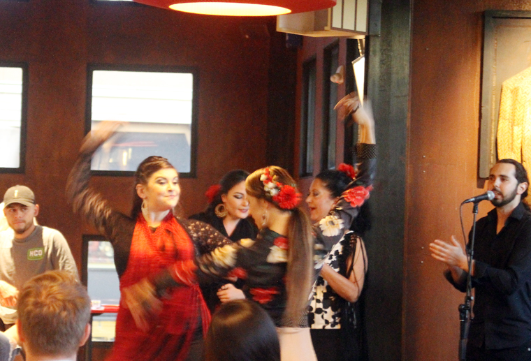 Because who can resist seeing flamenco dancers strut their stuff?