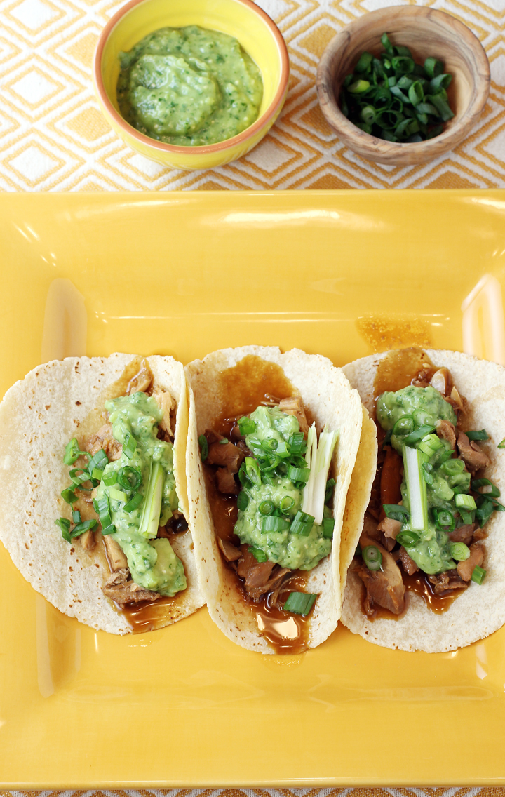 Stuff tortillas with chicken adobo, and get ready to do a happy dance.