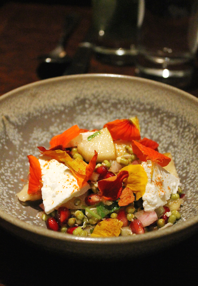 A show-stopping salad at Dosa.