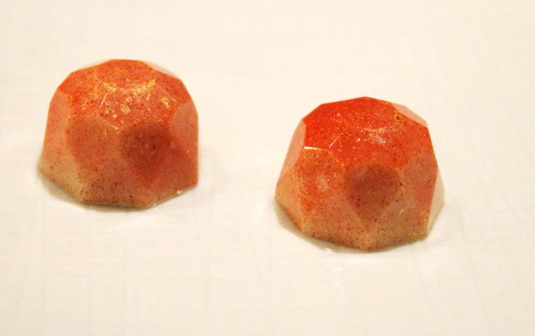 Cranberry truffles.