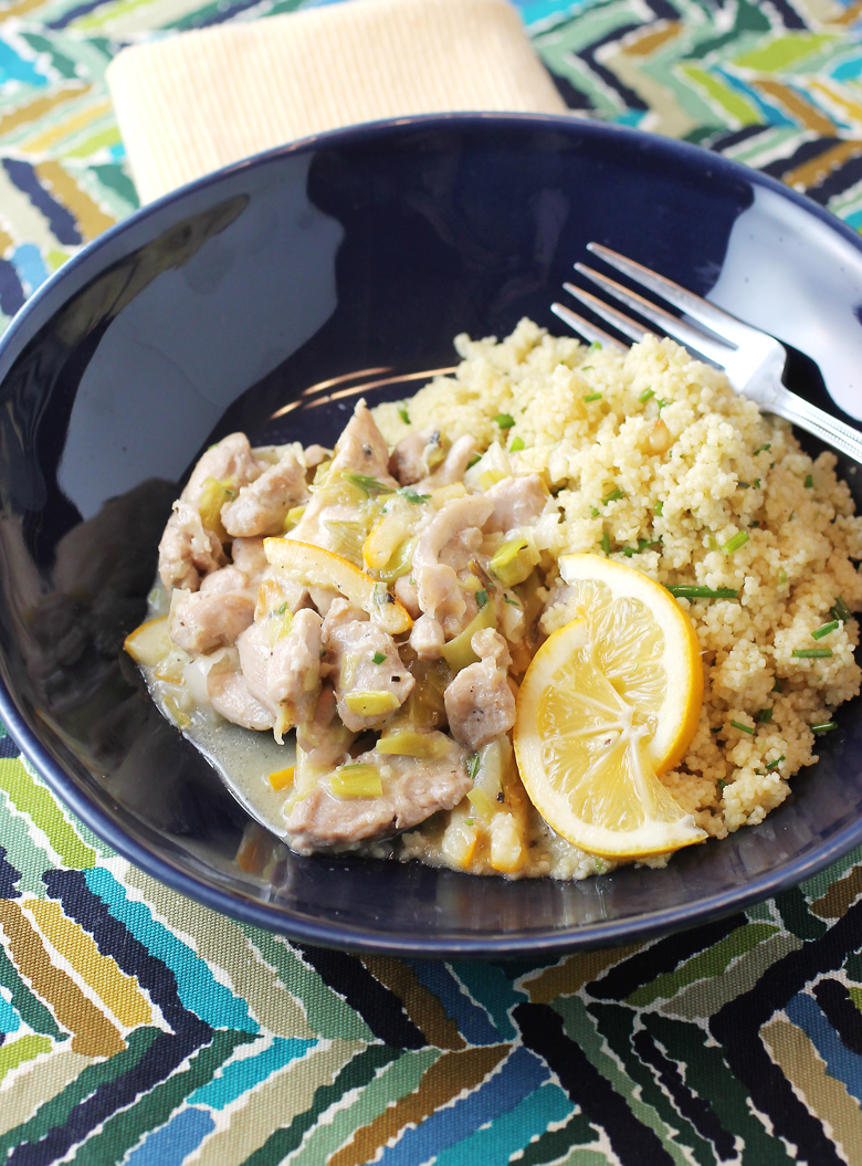 This is what I call an ideal lemon chicken.