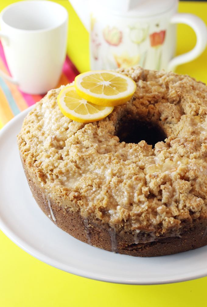 Meyer Lemon Coffee Cake Martha Stewart