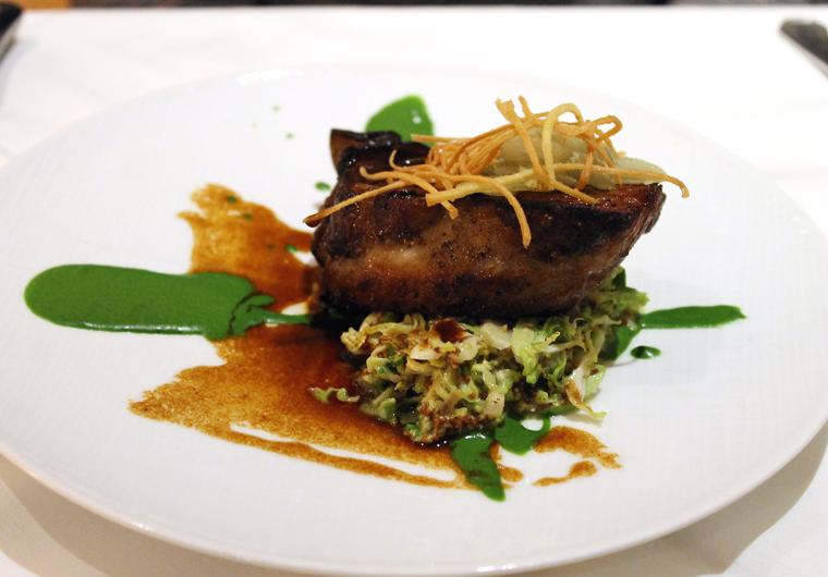 Wonderfully tender pork ribs.