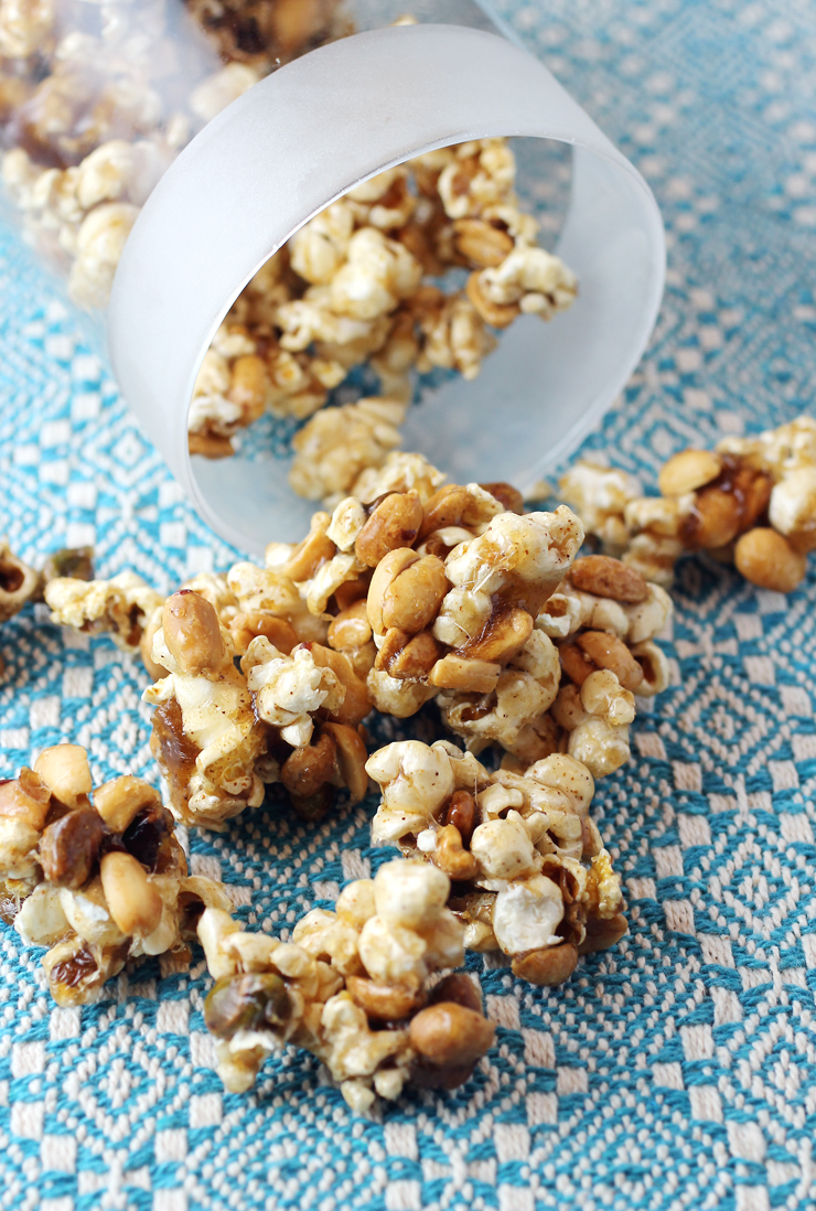 Sweet, savory, and spicy -- these aren't your childhood Cracker Jacks by any stretch.